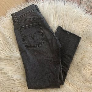 Levi's Jeans - Levi's Wedgie fit in coal black